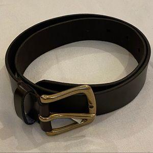 NWT~GAPKIDS Chocolate Brown Belt Size Large